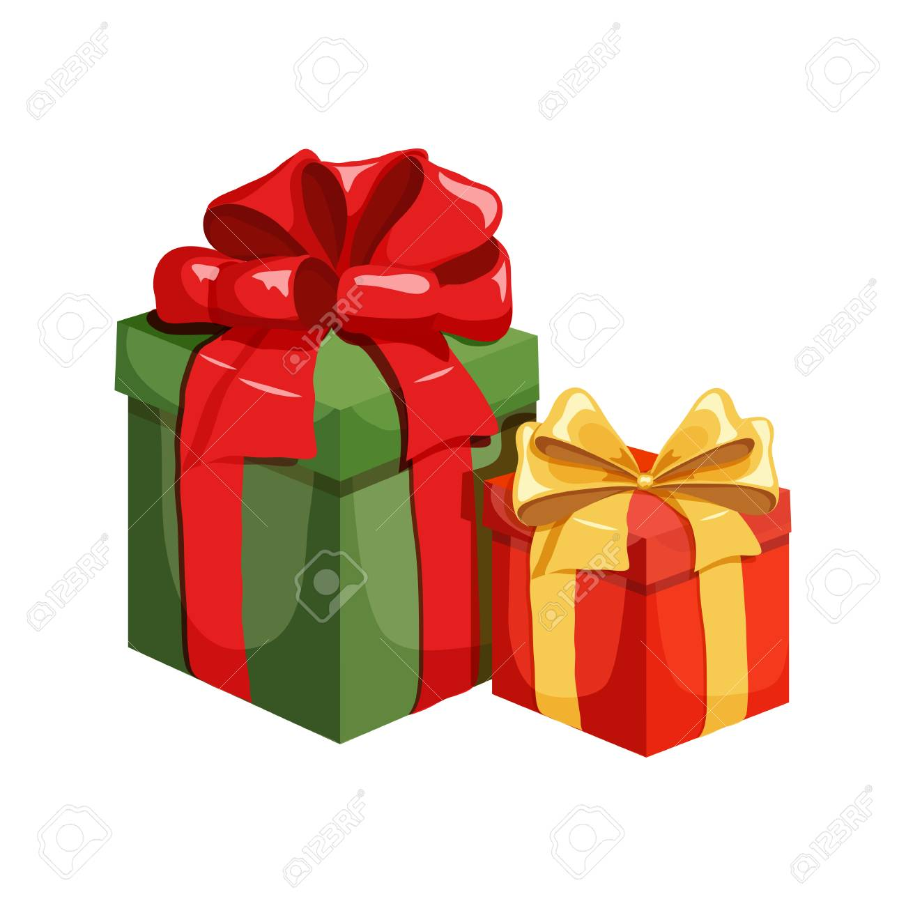 Christmas Gift Box Christmas Holiday Objects Christmas Gift Royalty Free Cliparts Vectors And Stock Illustration Image 63128997