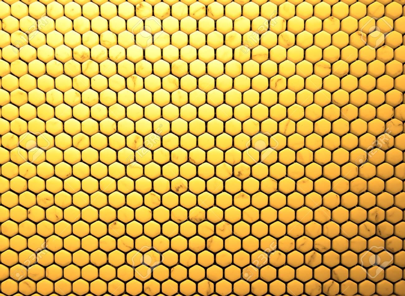 ceramic tiles texture hexagon honeycomb pattern background