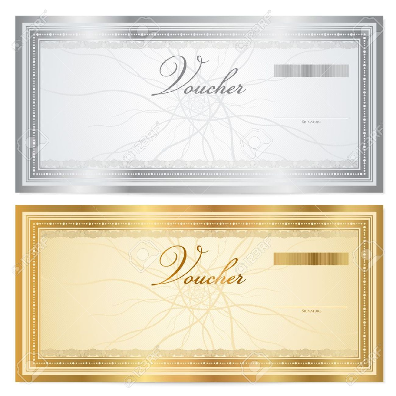 Template For A Voucher gift certificate voucher coupon template – Prize Voucher Template