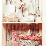 Lovely Homeware And Dishware In The Kitchen At Shabby Chic Style Stock Photo Picture And Royalty Free Image Image 56628733