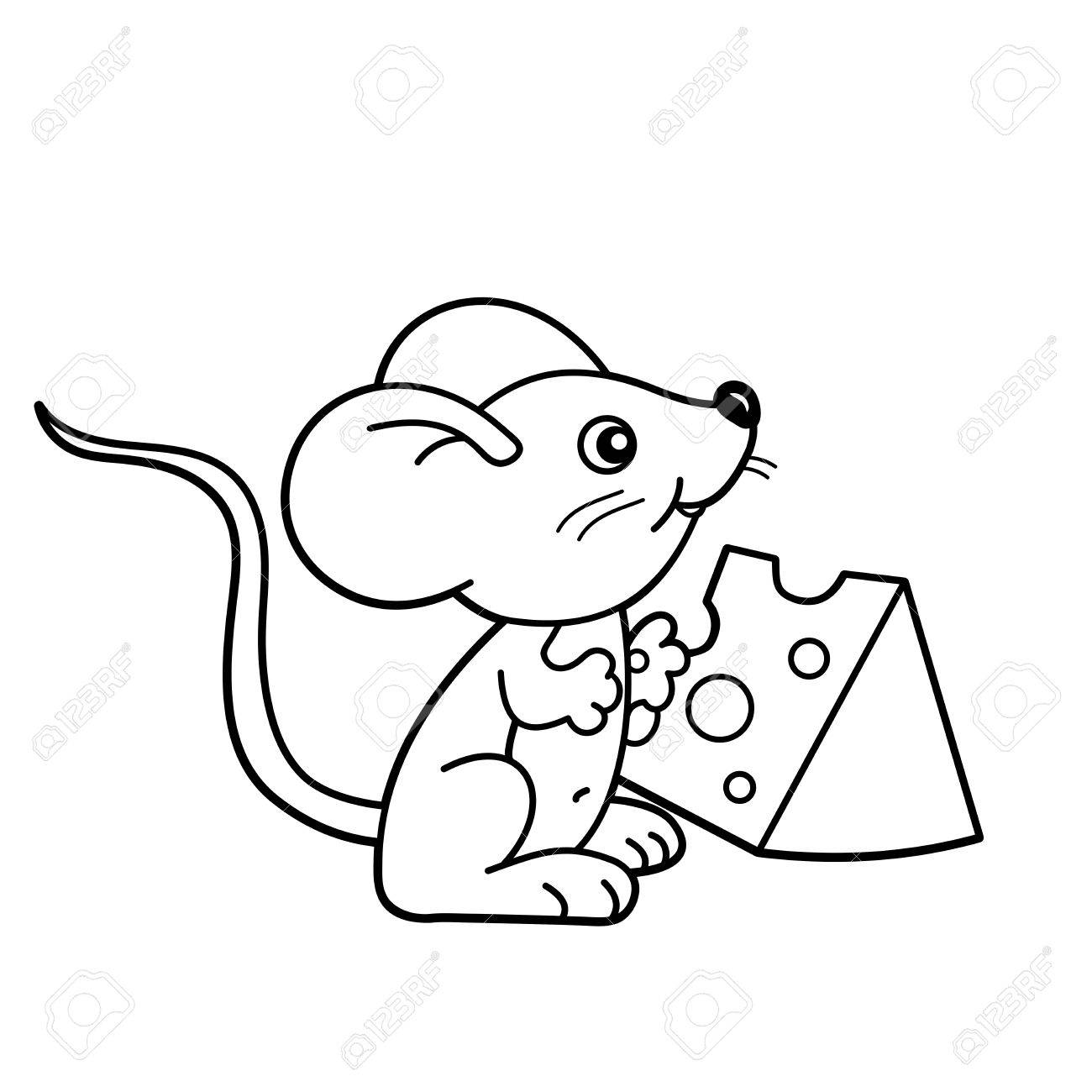 Raton Animado Para Dibujar On Log Wall