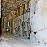White Carrara Marble Quarry Made In The Gallery The Use Of Diamond Stock Photo Picture And Royalty Free Image Image 124646064