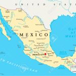 Mexico Political Map With Capital Mexico City National Borders Royalty Free Cliparts Vectors And Stock Illustration Image 32371939