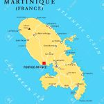 Martinique Political Map With Capital Fortdefrance And Important Royalty Free Cliparts Vectors And Stock Illustration Image 41388586