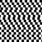 Cafe Wall Illusion Geometrical Optical Illusion In Which The Royalty Free Cliparts Vectors And Stock Illustration Image 60225053
