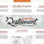 Vector Vintage Food Design Template Menu Restaurant Brochure Royalty Free Cliparts Vectors And Stock Illustration Image 41960260