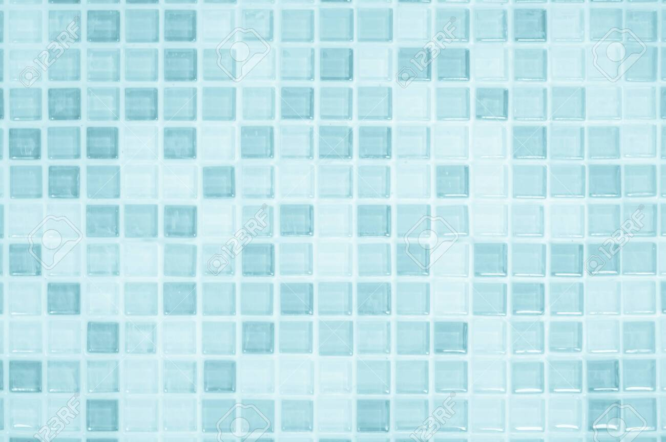 blue pastel ceramic wall and floor tiles abstract background