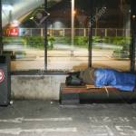 Munich Germany May 6 2017 A Homeless Person Sleeping On Stock Photo Picture And Royalty Free Image Image 78726089