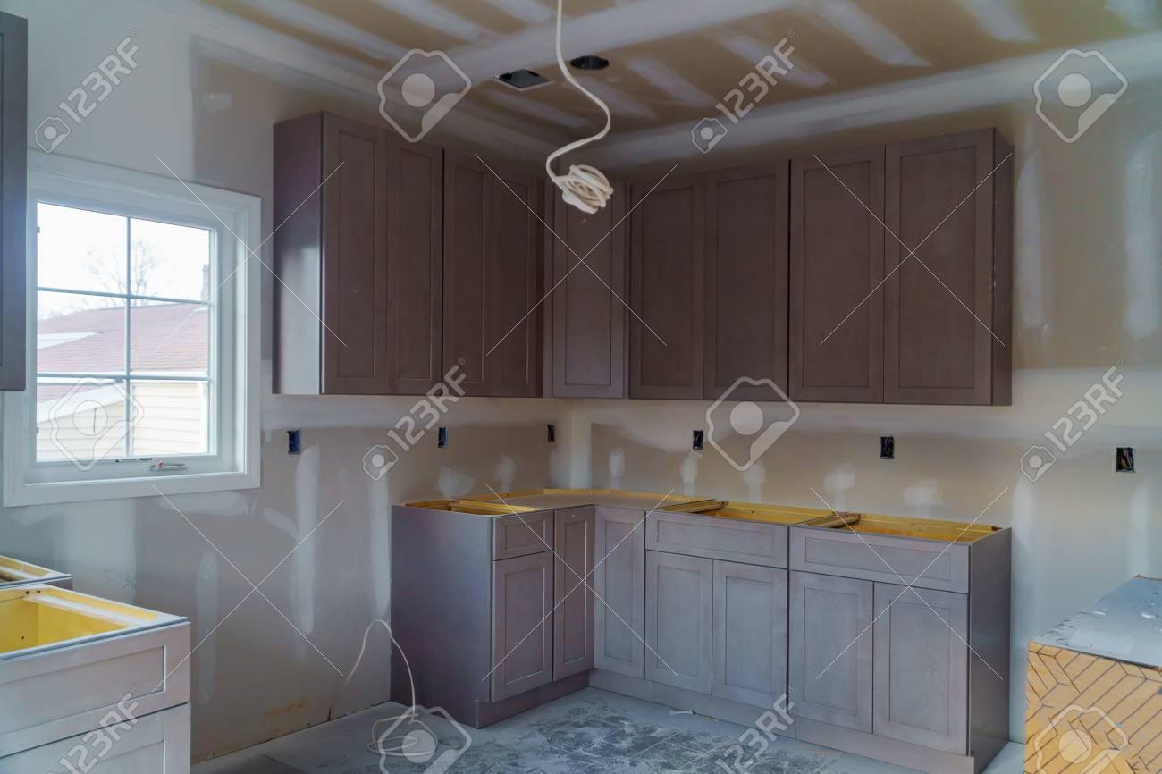 Kitchen Cabinets Installation Blind Corner Cabinet Island Drawers