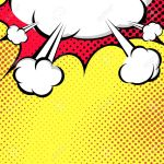 Hanging Speech Bubble Cloud Pop Art Style Comic Book Style Royalty Free Cliparts Vectors And Stock Illustration Image 34202118