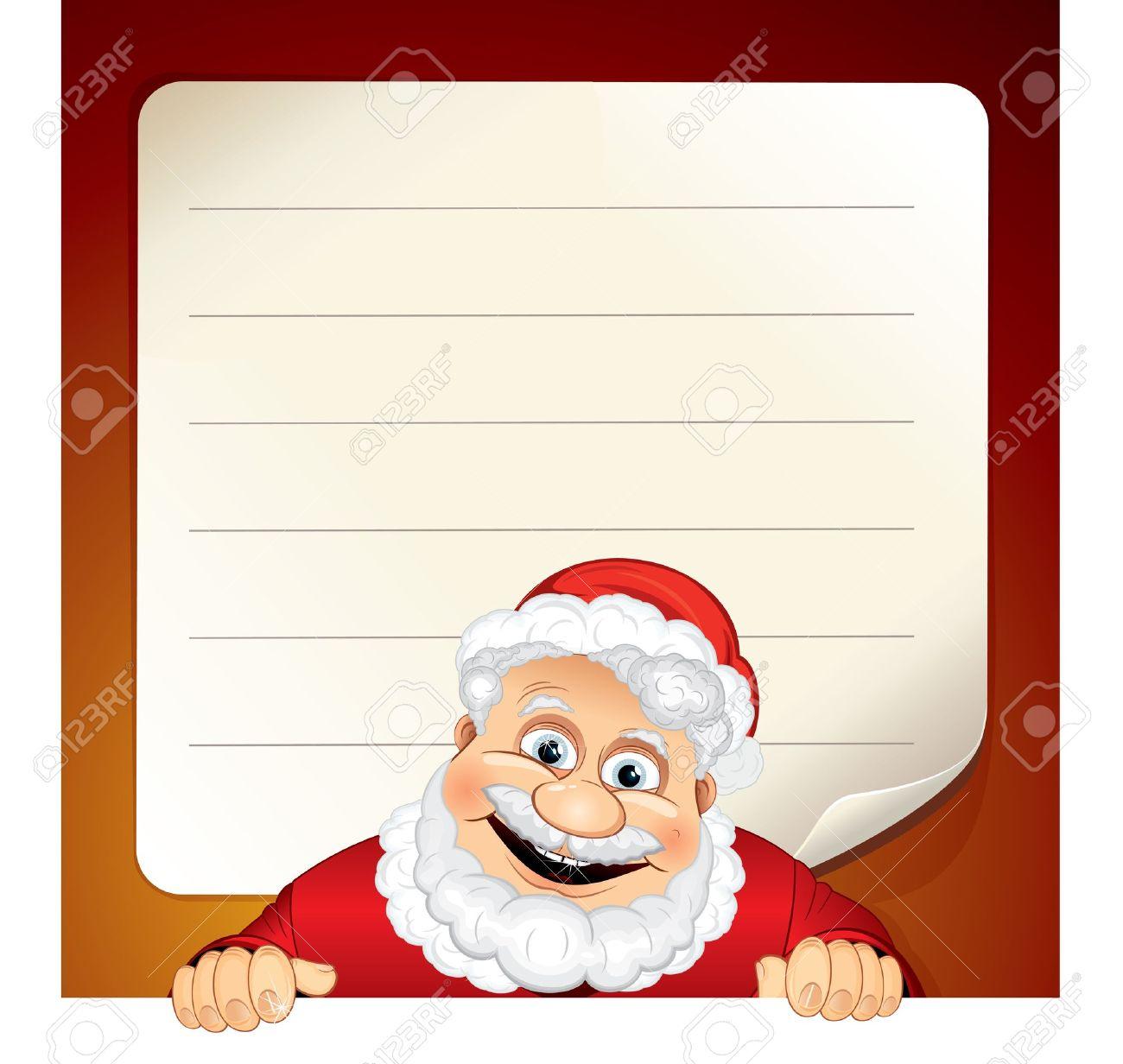 Santa List Template Printable Vosvetenet – Santa List Template Printable