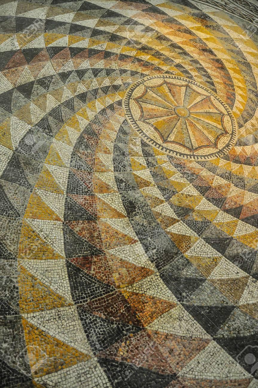roman mosaic tile