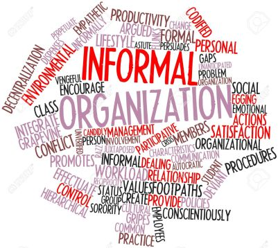 Difference between Formal and Informal Organization with its comparison.