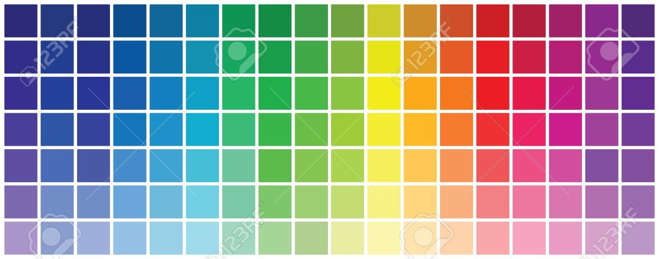 Abstract Colored Rgb Palette Royalty Free Cliparts Vectors And Stock Illustration Image 17872254