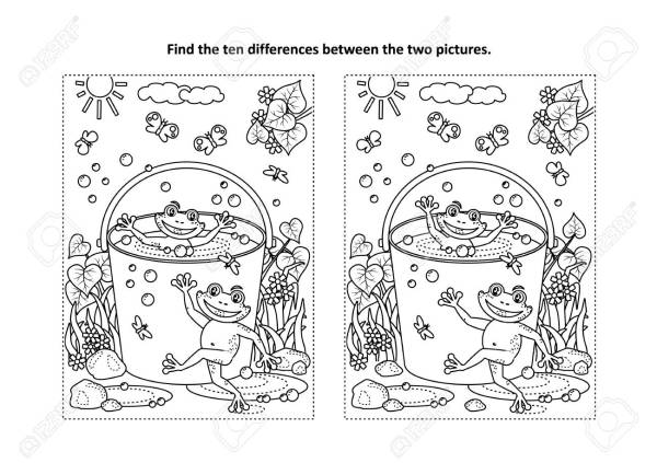 free coloring pages froggy learns to swim # 81