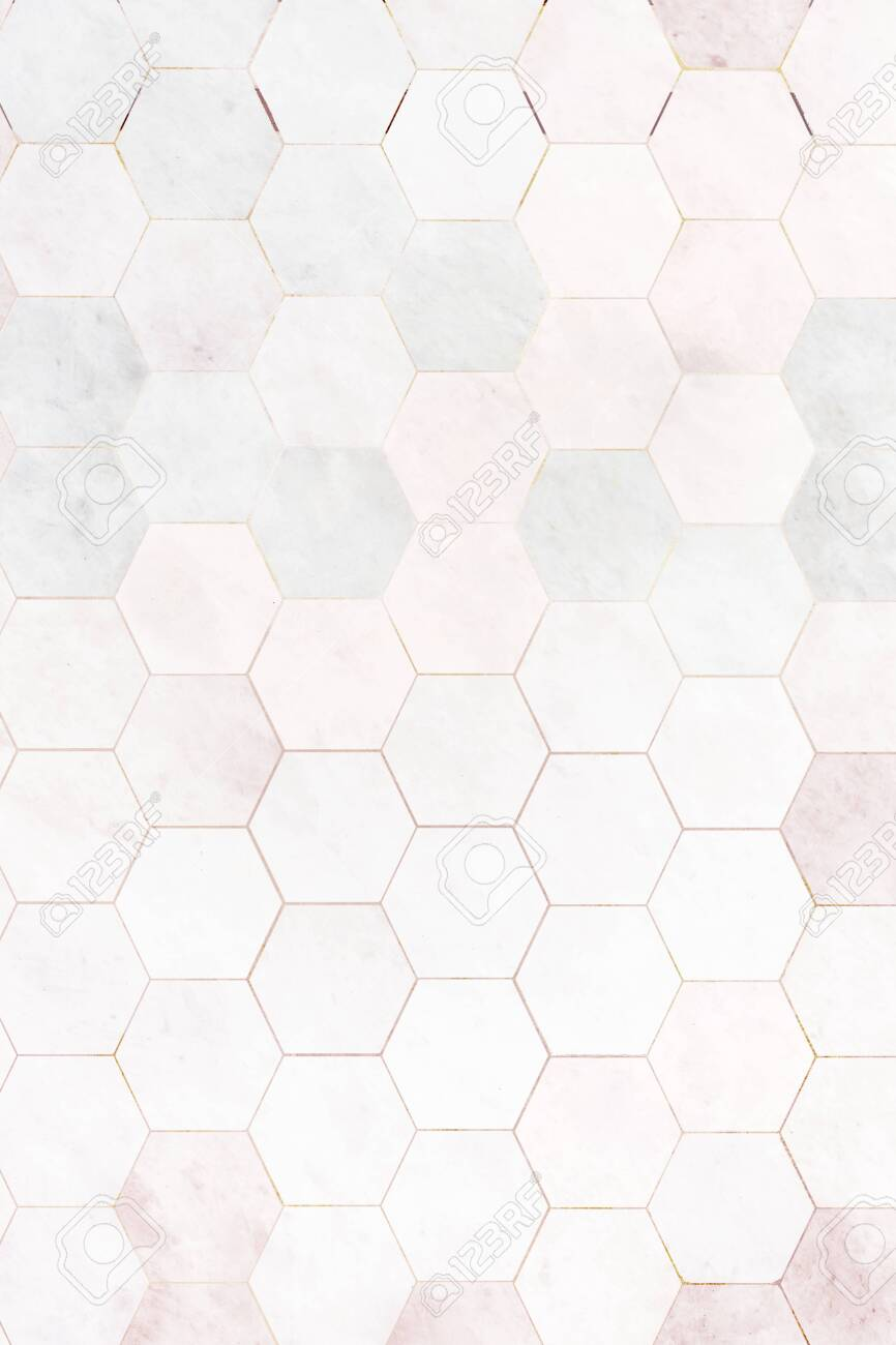 https www 123rf com photo 124634891 hexagon pink marble tiles patterned background html