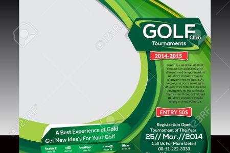 financial business plan template excel golf tournament brochure