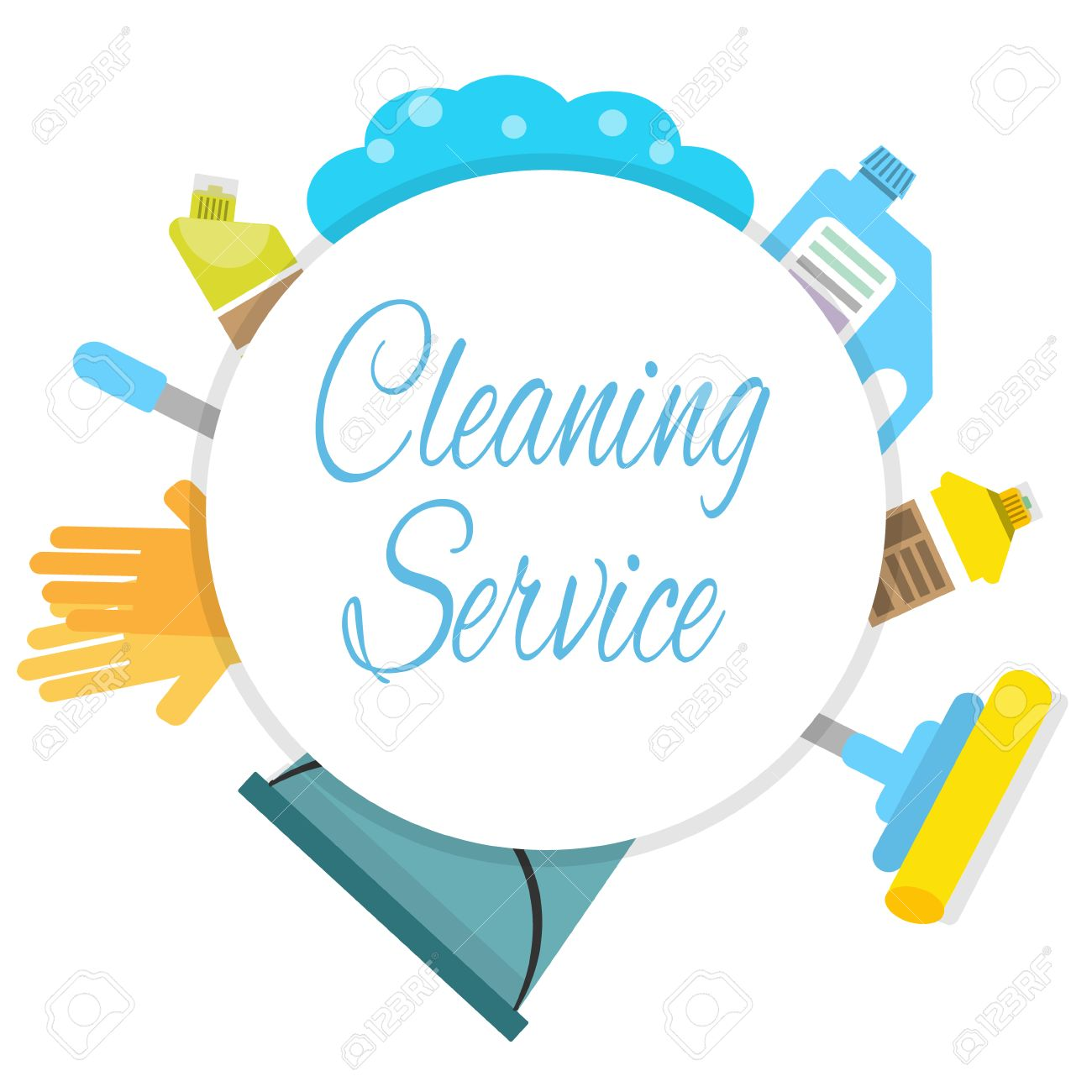 Cleaning Company Logo Concept Royalty Free Cliparts, Vectors, And Stock Illustration. Image 73324975.