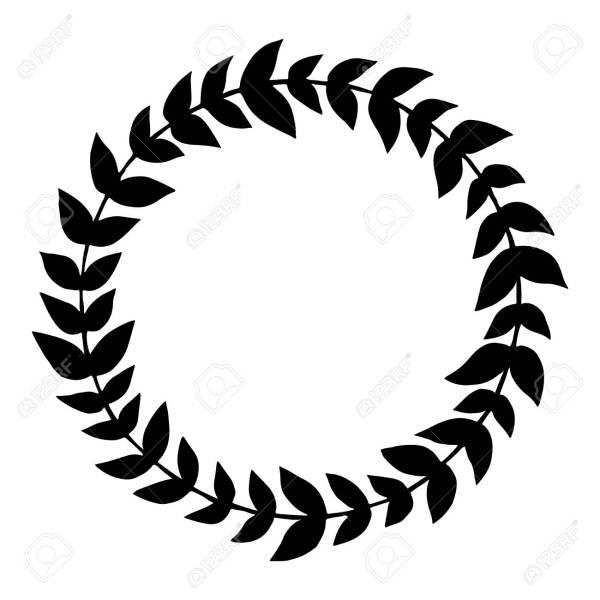 wreath template # 5