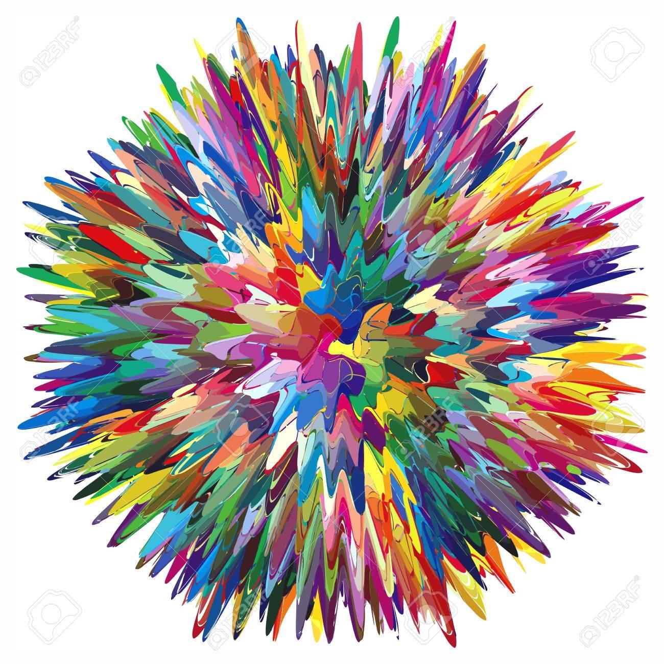 Artistes Palette Avec De L Huile Melangee Ou Peinture Acrylique Clip Art Libres De Droits Vecteurs Et Illustration Image 12479993