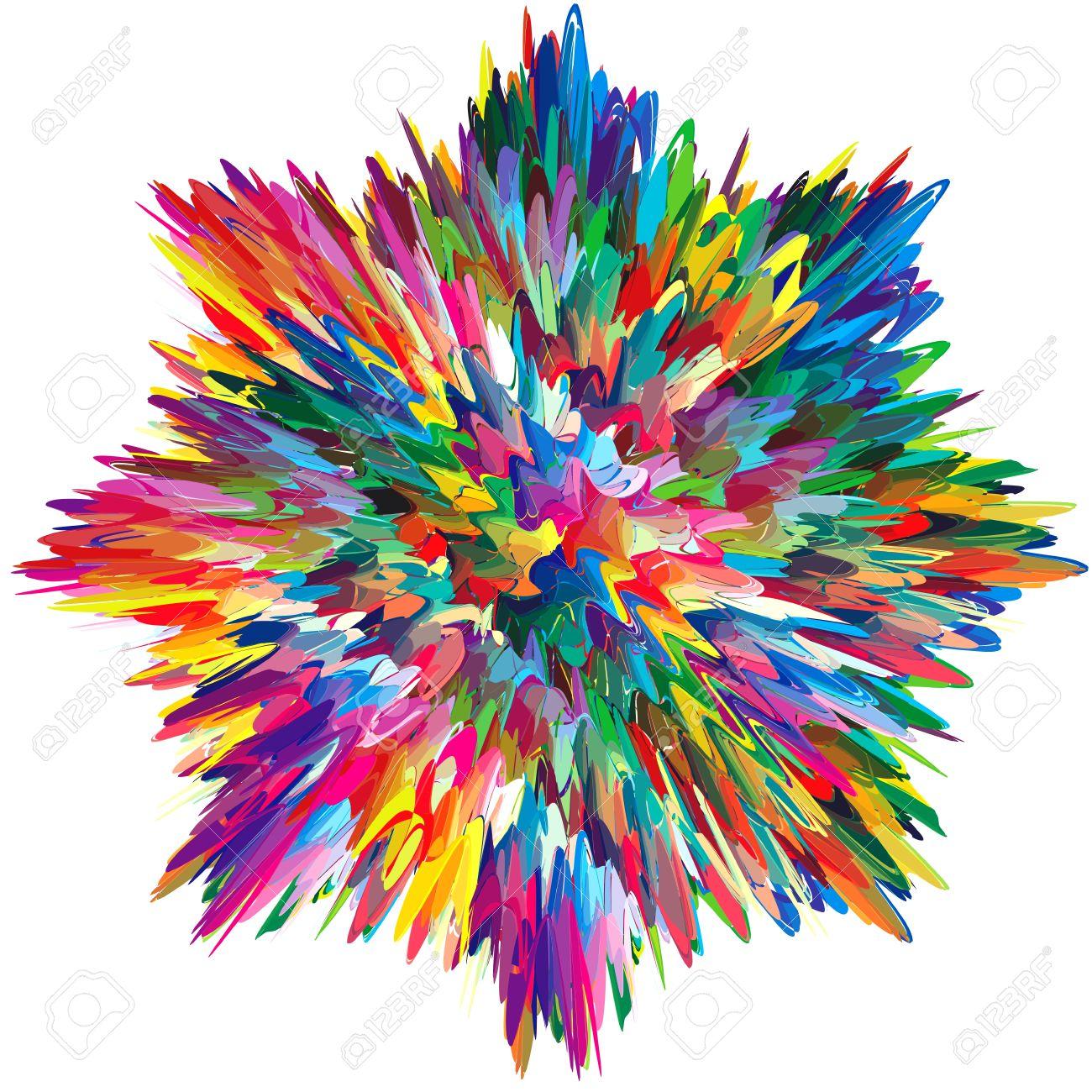 Artistes Palette Avec De L Huile Melangee Ou Peinture Acrylique Clip Art Libres De Droits Vecteurs Et Illustration Image 12479994