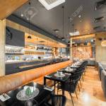 Moscow August 2014 Interior Of A Japanese Restaurant Bar And Stock Photo Picture And Royalty Free Image Image 67635918