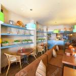 Moscow August 2014 The Interior Of A Small Modern Cozy Cafe Stock Photo Picture And Royalty Free Image Image 99104306
