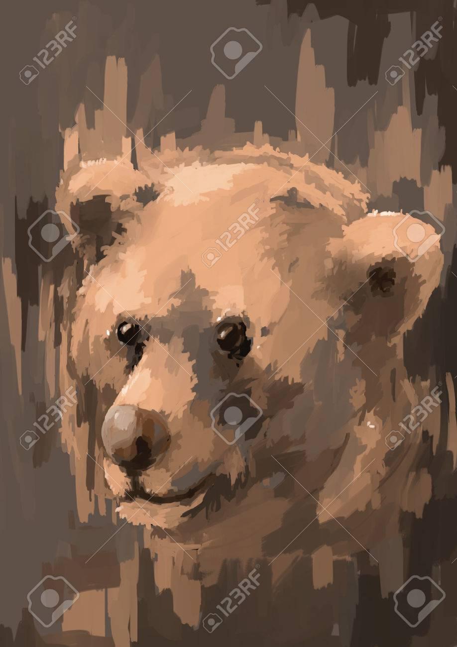 Digitale Malerei Eines Weiblichen Auge Auf Eigenen 3d Rendering