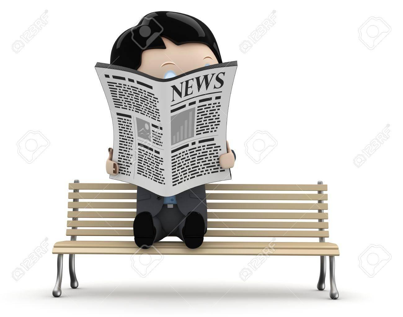 Resultado de imagen para CARTOON READING NEWSPAPER