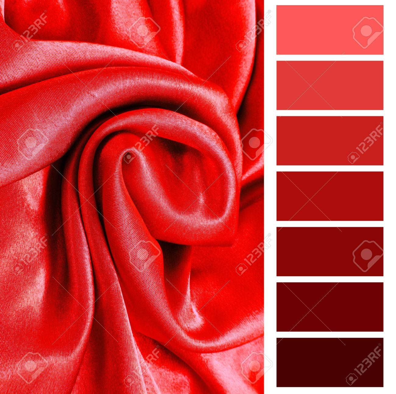 Selection De Couleur Rouge Tableau Palette Gratuit Banque D Images Et Photos Libres De Droits Image 34023033