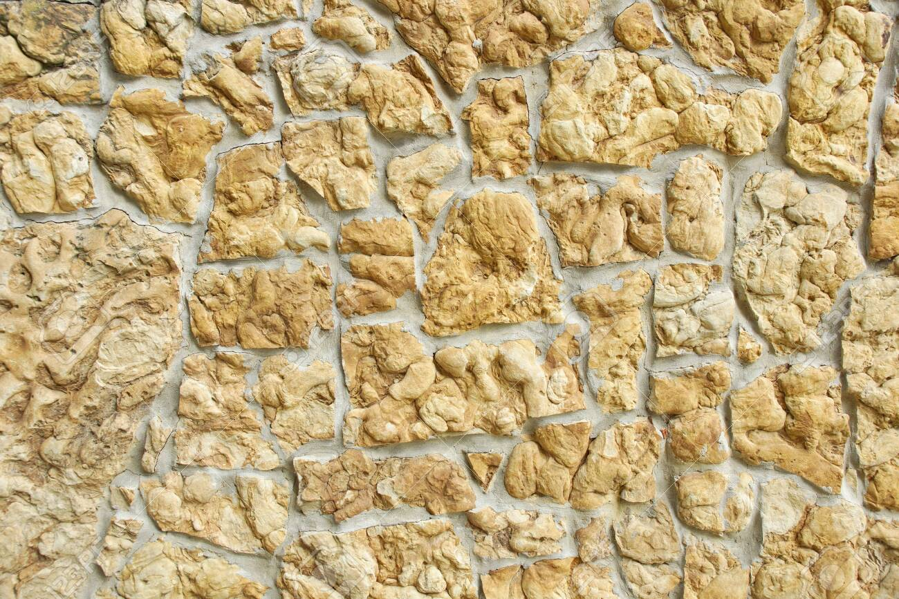 Wall Decorative Stone Stucco Texture Background Light Home Decor