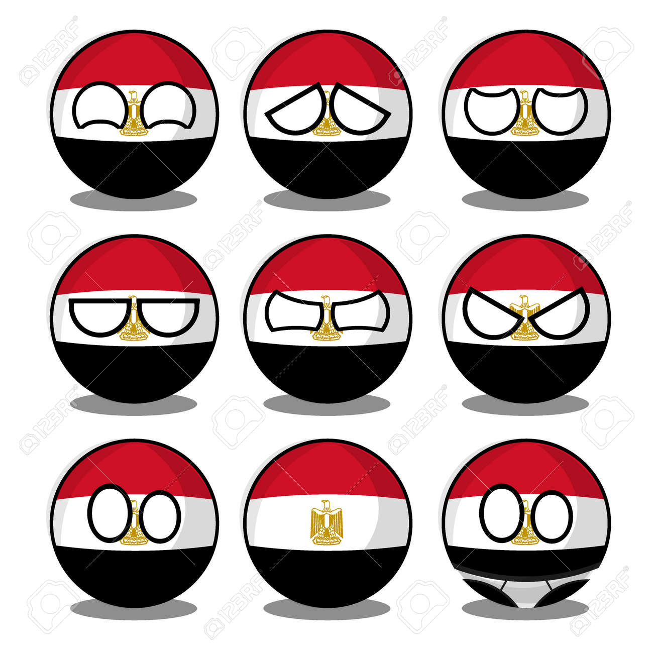 Protests In Egypt Polandball