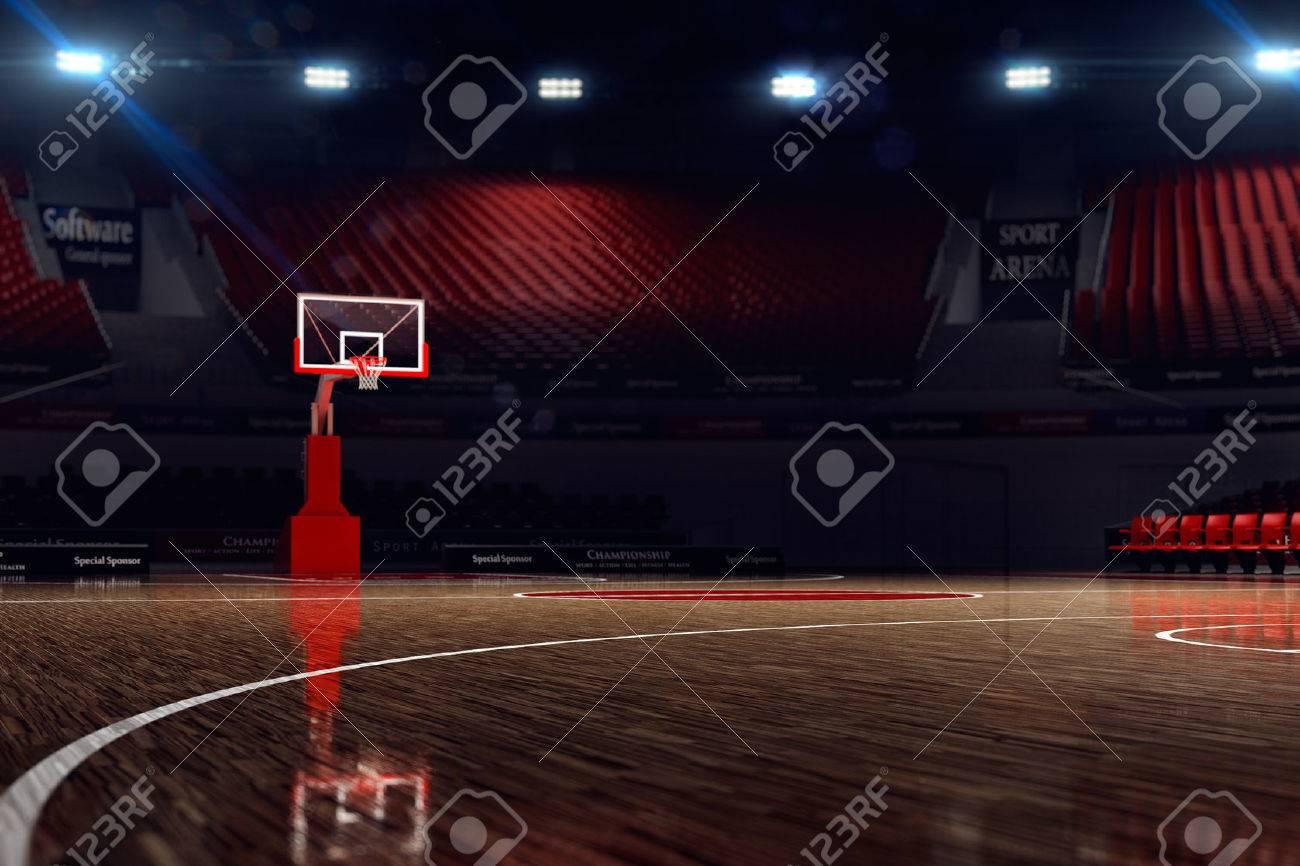 Resultado de imagen de cancha de basquetbol