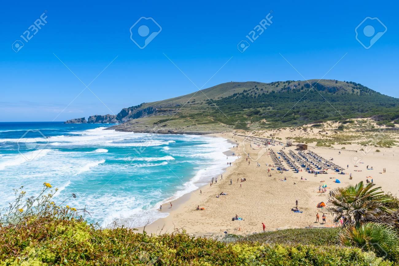 cala mesquida schoner strand der insel mallorca spanien lizenzfreie fotos bilder und stock fotografie image 82794846