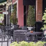 Outdoor Cafe Terrace Stock Photo Picture And Royalty Free Image Image 29652928