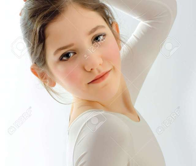Portrait Of Cute Teen Girl Stock Photo 5913064