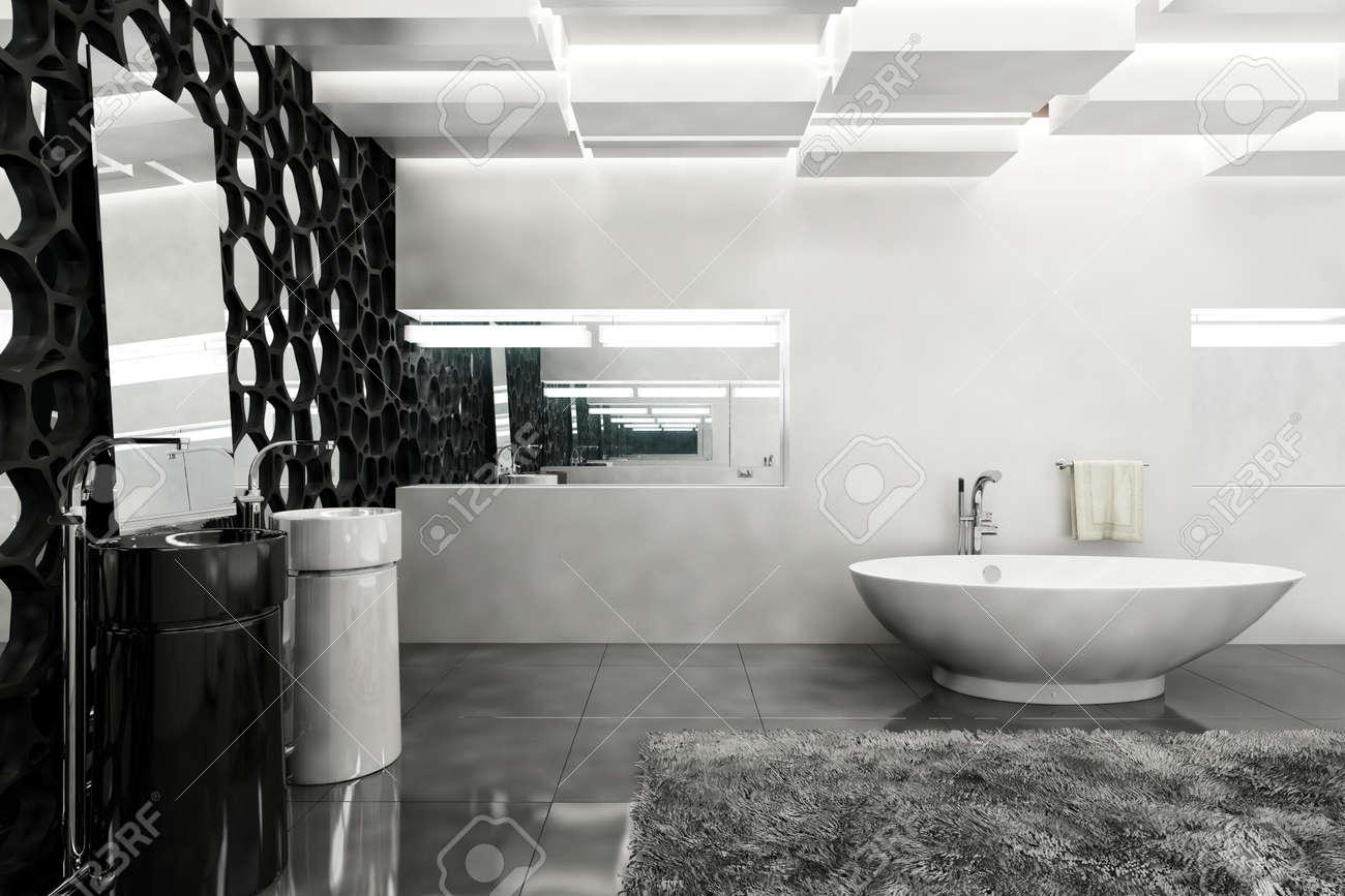 Teppich Badezimmer Grau