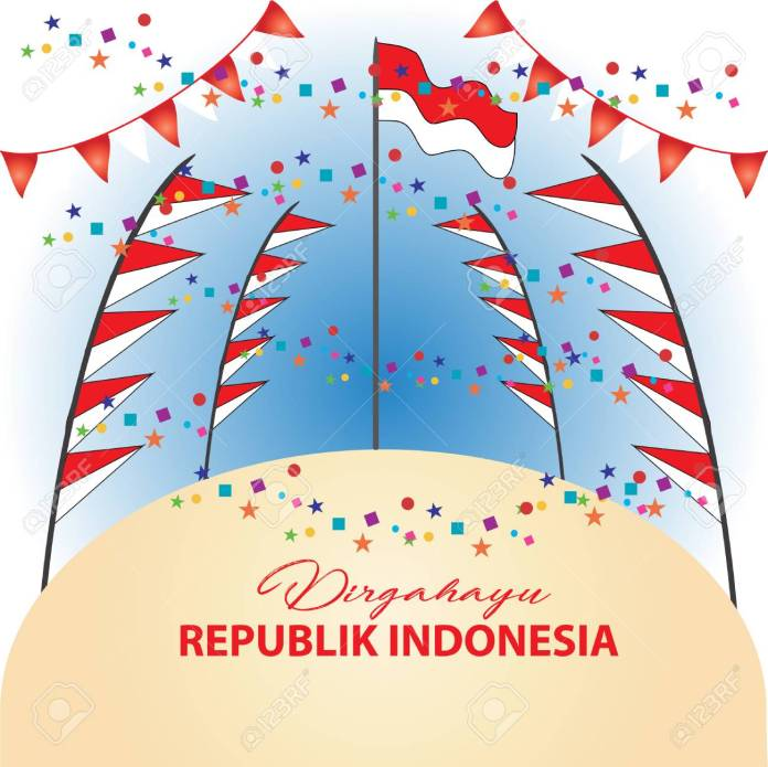 Poster Indonesian Independence Day Festival With Indonesia Flag Royalty Free Cliparts Vectors And Stock Illustration Image 103389261
