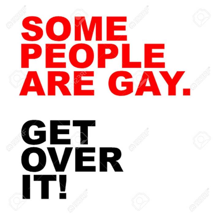 Image result for some people are gay get over it