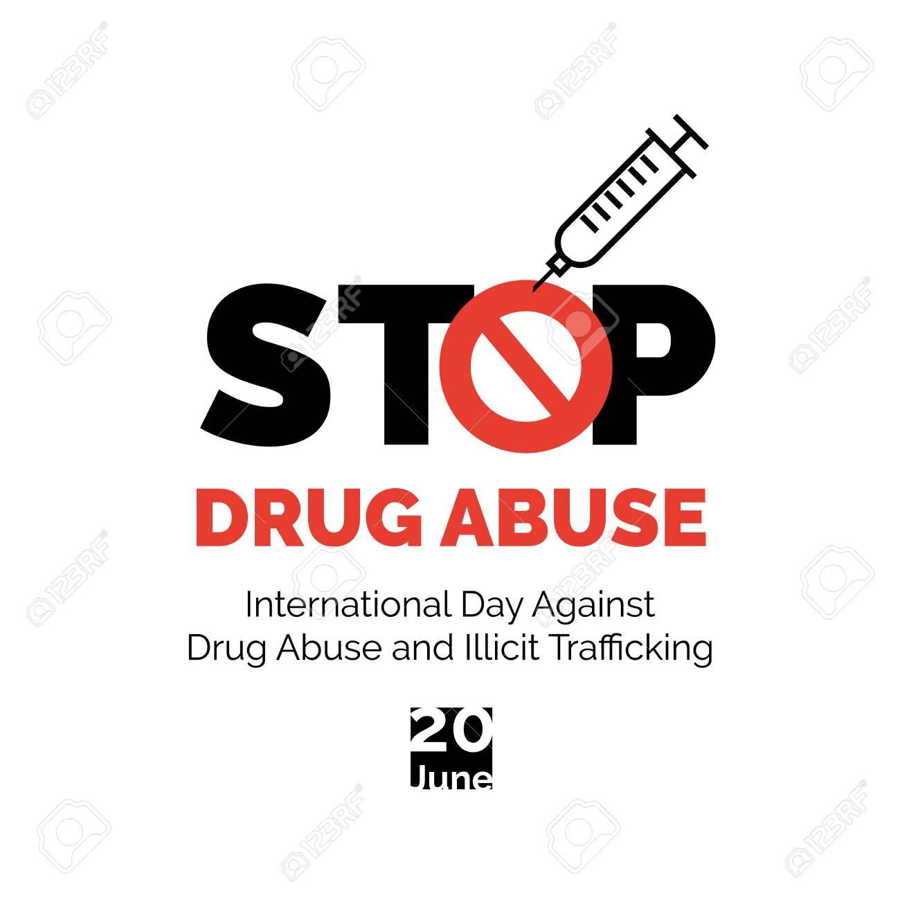 stop drug abuse poster design
