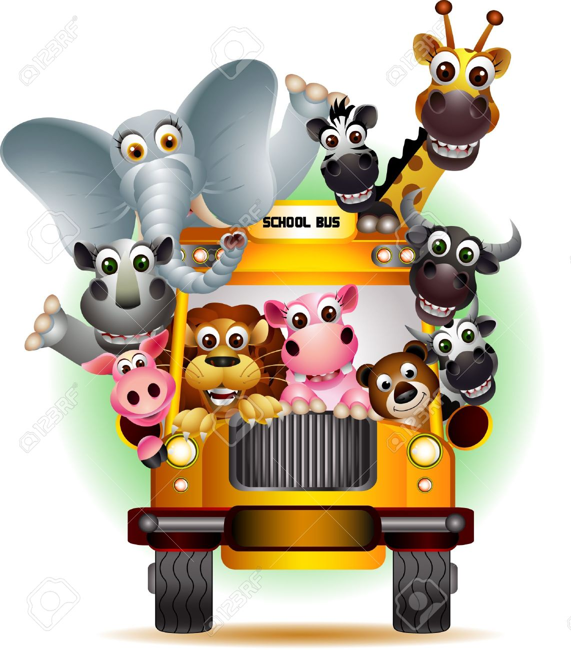 Image result for animals traveling cartoon
