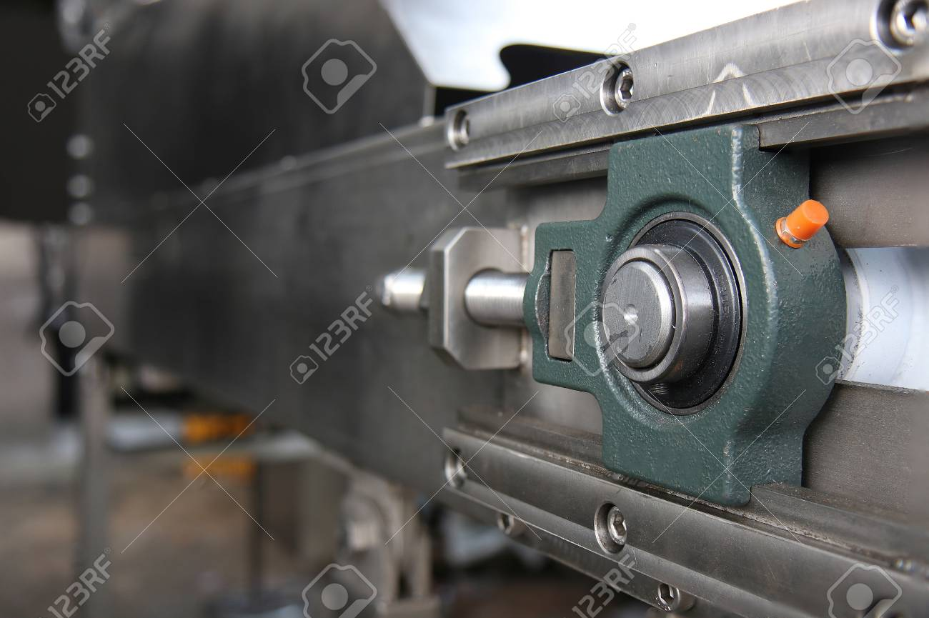 bearing housing pillow block ball bearing and shaft stock photo picture and royalty free image image 110677080