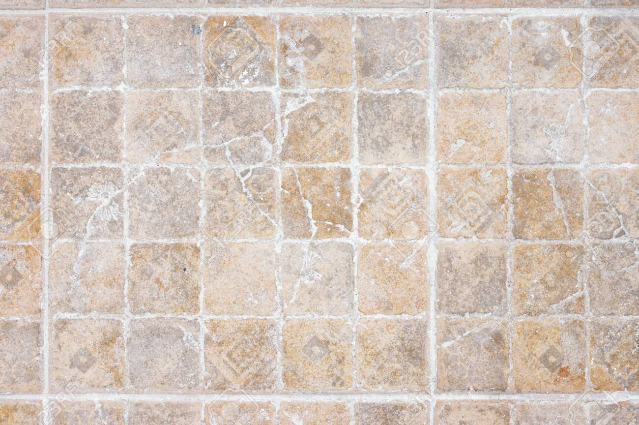 old distressed ornamental ceramic tile floor texture as background stock photo picture and royalty free image image 131457152