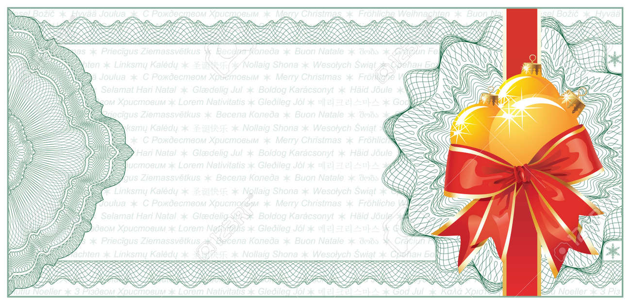 free gift certificate template and tracking log christmas gift – Christmas Certificates Templates for Word