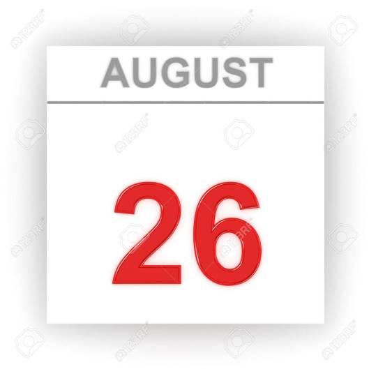 Resultado de imagen para 26 de agosto