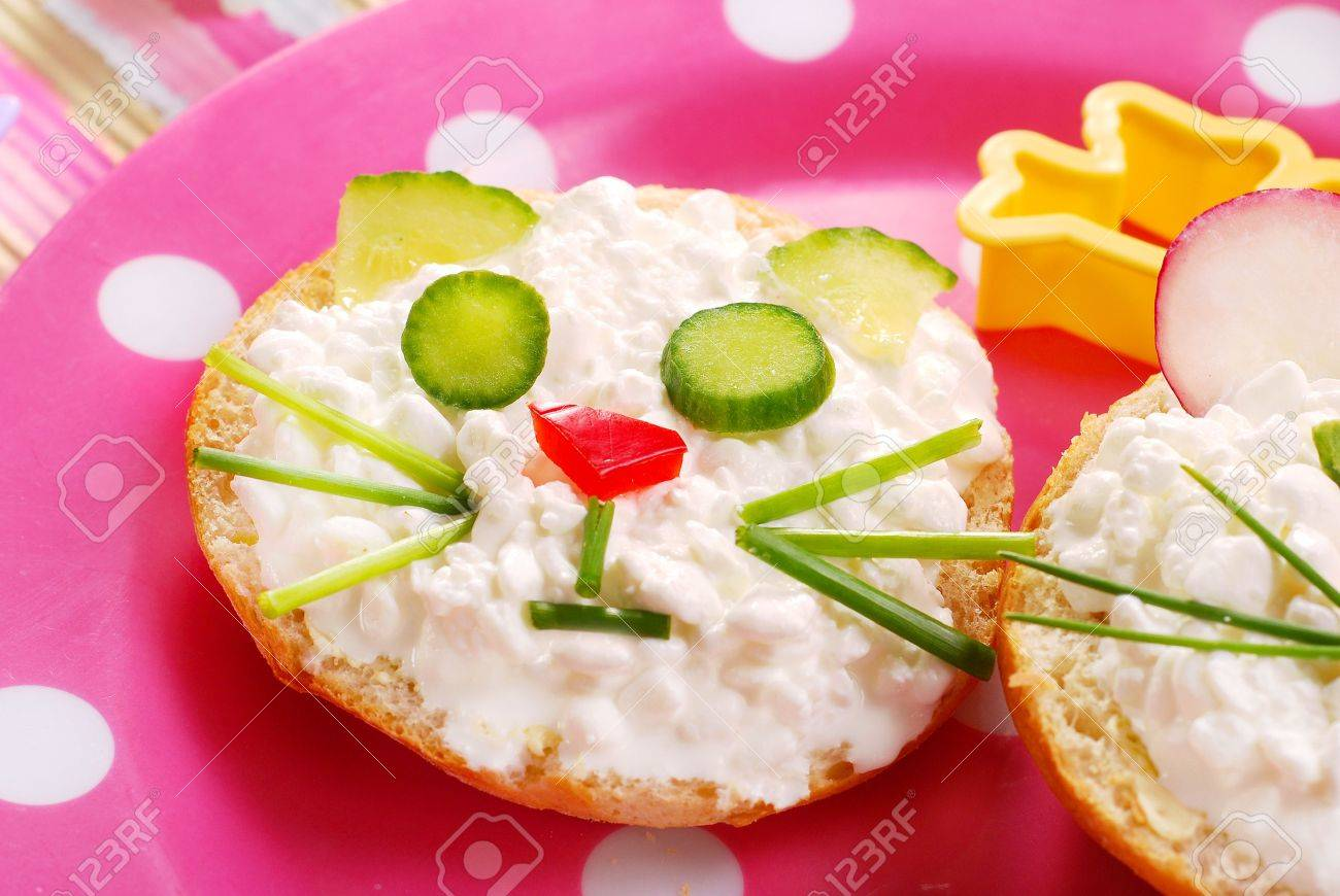 Image result for sandwich in the shape of a cat