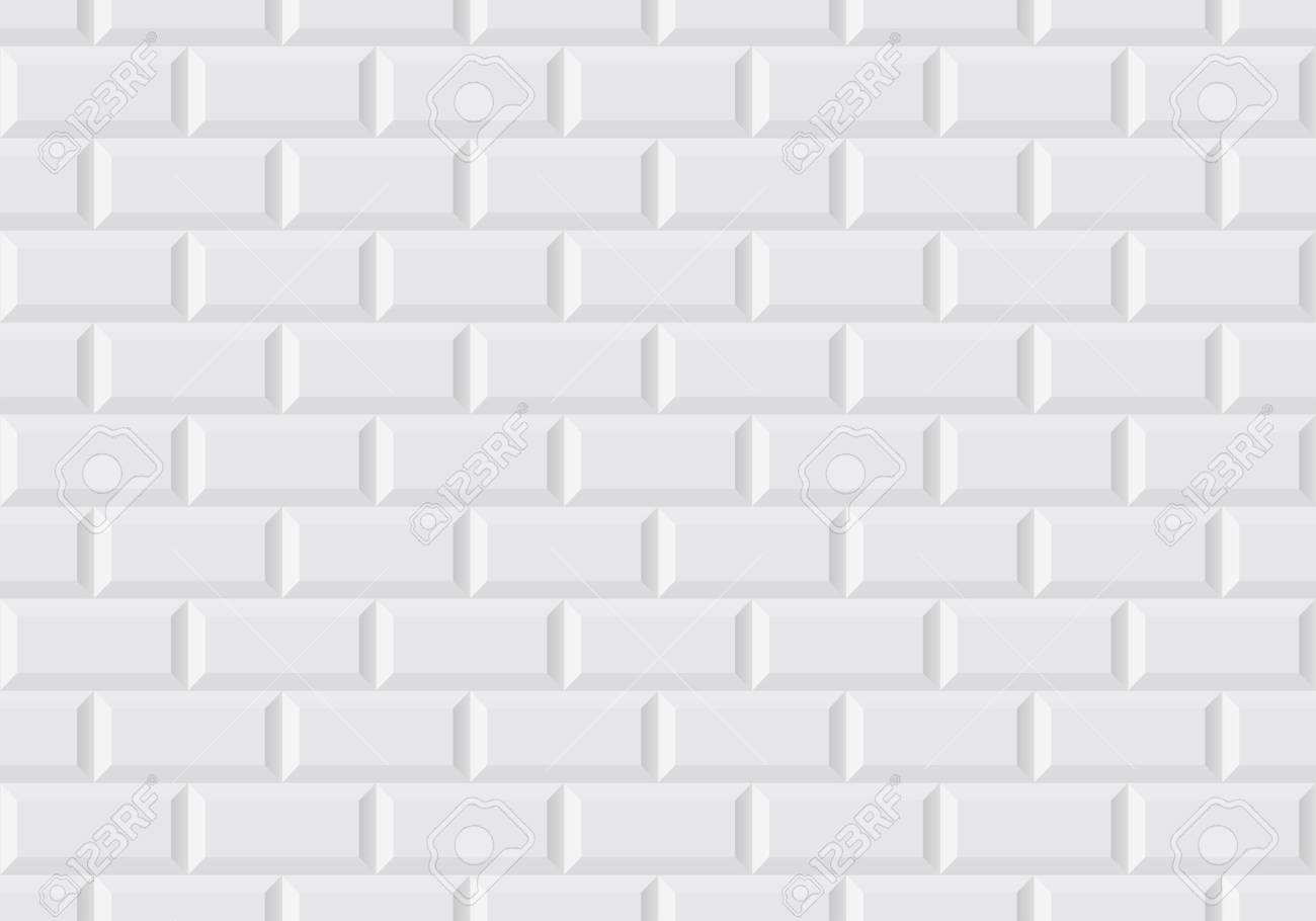 carrelage mural blanc comme dans le metro parisien