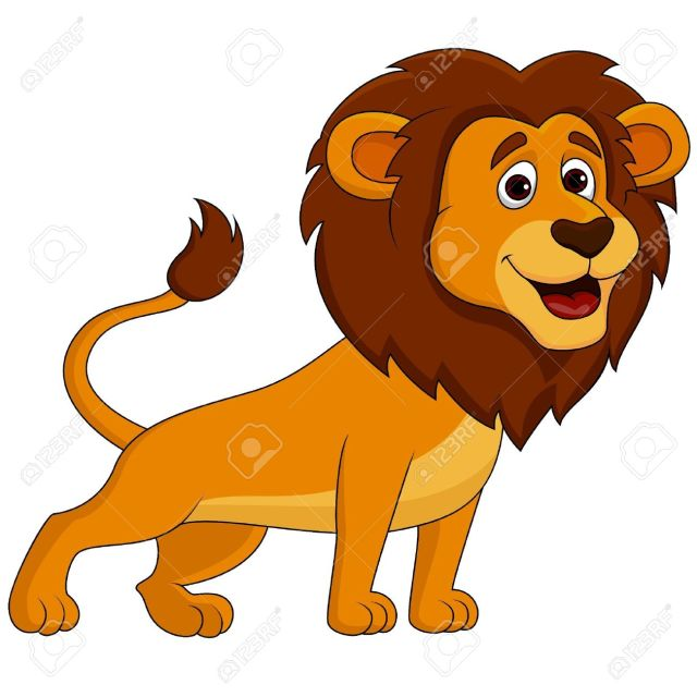 lion cartoon pictures free