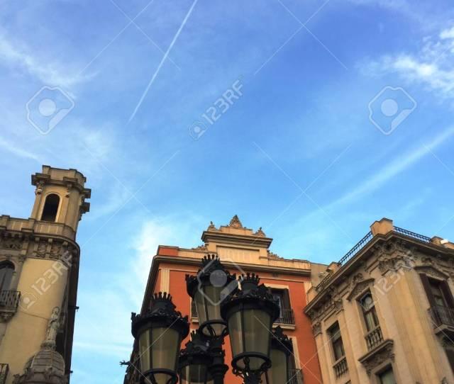 Gothic Quarter Barcelona Spain Stock Photo