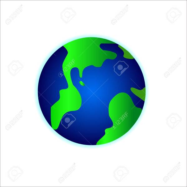 World Globe Maps Royalty Free Cliparts  Vectors  And Stock     Vector   World Globe Maps